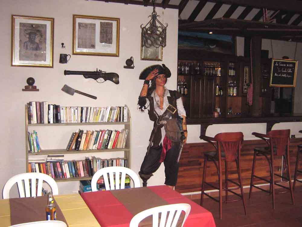 Le bar des pirates